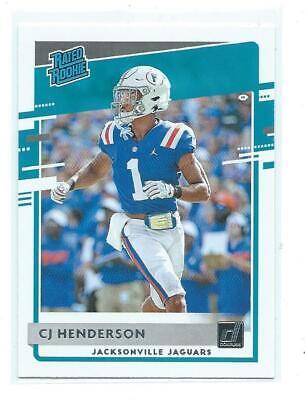 2020 Donruss-CJ Henderson Rookie 348-Jacksonville Jaguars/Arizona - $1.95