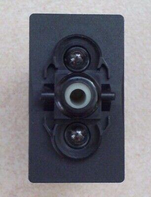 Vjdj-1 New Carling V Series Contura On Off Rocker Switch Double Pole 2 Lamps