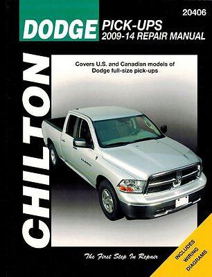 Dodge Pick-Ups 2009 - 2014 Chilton Manual 20406