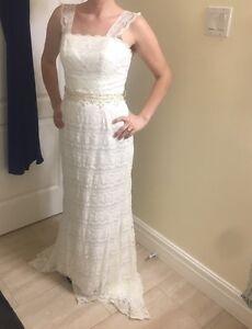 Brand new dress and veil