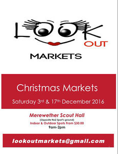 Stallholders Wanted for our December markets. Merewether Newcastle Area Preview