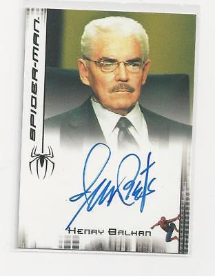 Jack Betts - Spiderman signed Trading Card