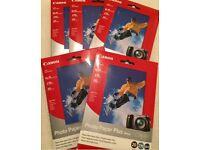 Genuine Canon Photo Paper Plus Glossy (5 x 20 sheets = 100) - 4 x 6