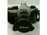 Nikon FM 2 Chrome Vintage 35Mmm.