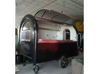 Mobile Catering Trailer Burger Van Food Cart 3000x1650x2300 for sale  Cheshire