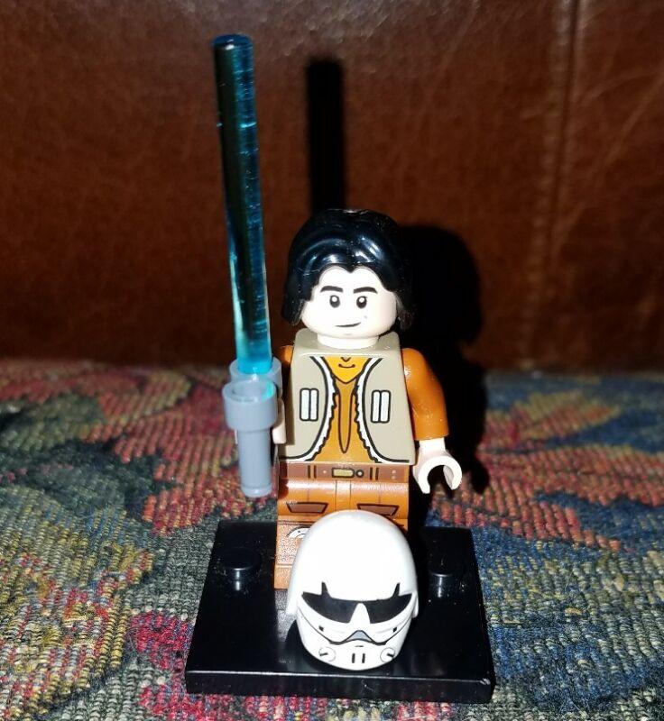 Star Wars Lego mini figure  EZRA BRIDGER rebels 75090 75158