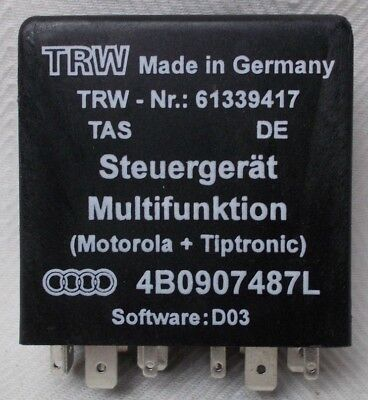Fits; Audi A6 S6 Multi Function Relay Contol Unit NOS 4B0907487 L