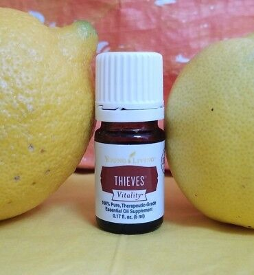 Young Living Thieves Vitality Essential Oil   5 Ml   Free Shipping