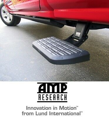 (Amp Research BedStep2 Side Bed Step for 2017-2018 Ford Super Duty F-Series Truck)