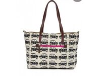 Pink Linings Notting Hill Tote Black Cabs