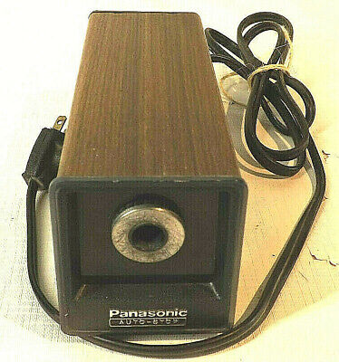 Vintage Panasonic Kp77 Electric Pencil Sharpener Auto Stop Made In Japan Tested