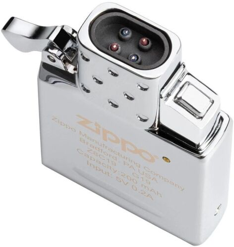 ZIPPO Plasma Arc Insert W/ Double Tap Push Ignition, 300 Lights per Charge 65828
