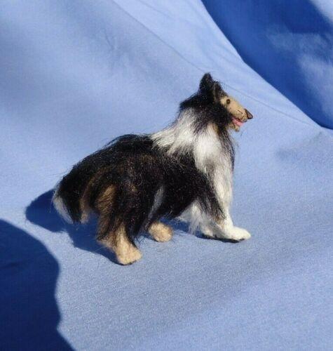 BORDER COLLIE OOAK SOFT SCULPTURE DOG