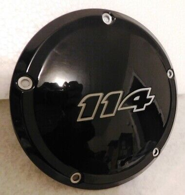 Harley Davidson M8 Touring Primary Derby Cover 114 Black 25700389 17-20