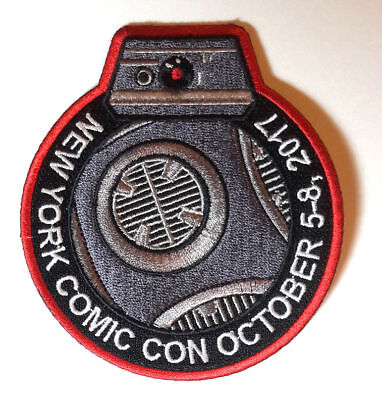 Star Wars - New York Comic Con 2017 - Uniform Patch Kostüm Aufnäher - - Comic Con Kostüm