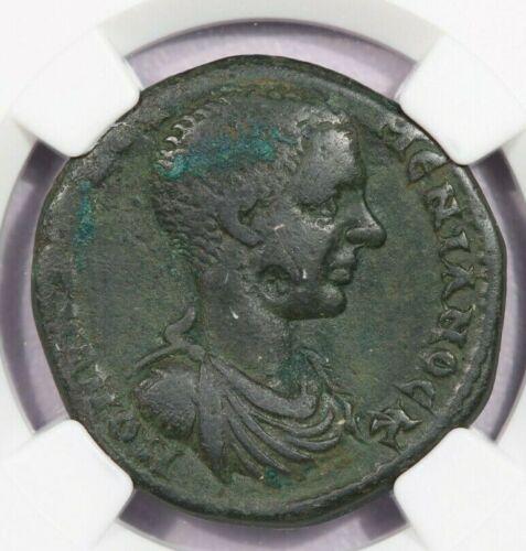 218 AD AE 26 Moesia, Nicopolis Diadumenian NGC Ch F b3