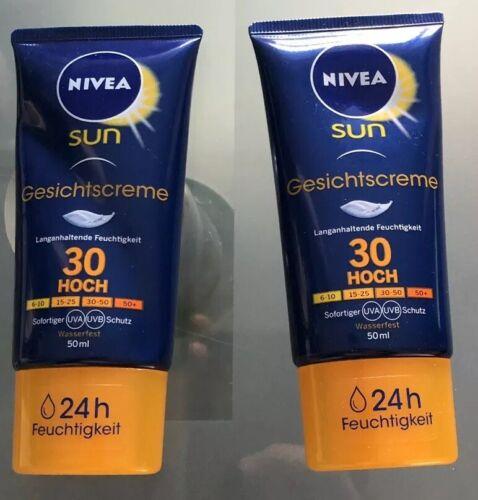 2x Nivea Sun Anti-Age Sonnencreme für das Gesicht, Lichtschutzfaktor 30 Hoch NEU