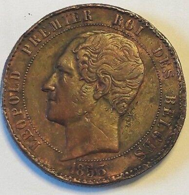 10 centimes - Léopold I mariage 1853 Belgique Belgïe