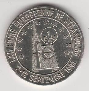 1994 - FRANCE - EURO DES VILLES / STRASBOURG / 1 ECU - France - Pays: France Valeur faciale: 1 Ecu Année: 1994 - France