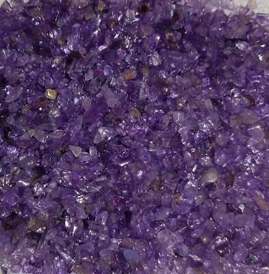 Amethyst Gemstone Chips Nuggets No Hole Undrilled For Bottles Jewelry Gem Small
