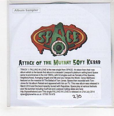 (GF549) Space, Attack Of The Mutant 50ft Kebab sampler - 2014 DJ