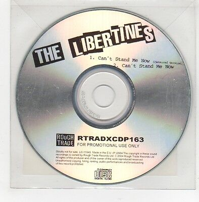 (GE763) The Libertines, Can't Stand Me Now - 2004 DJ CD