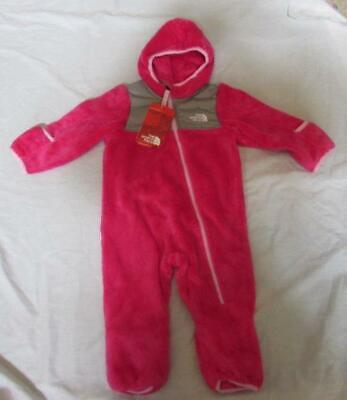 THE NORTH FACE baby girls petticoat pink Oso 1 piece bunting plush NEW](The Pink Petticoat)