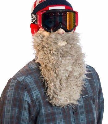 263abbcd886 Beardski Honey Badger Insulated Thermal Ski Warm Winter Beard Face Mask NEW  +