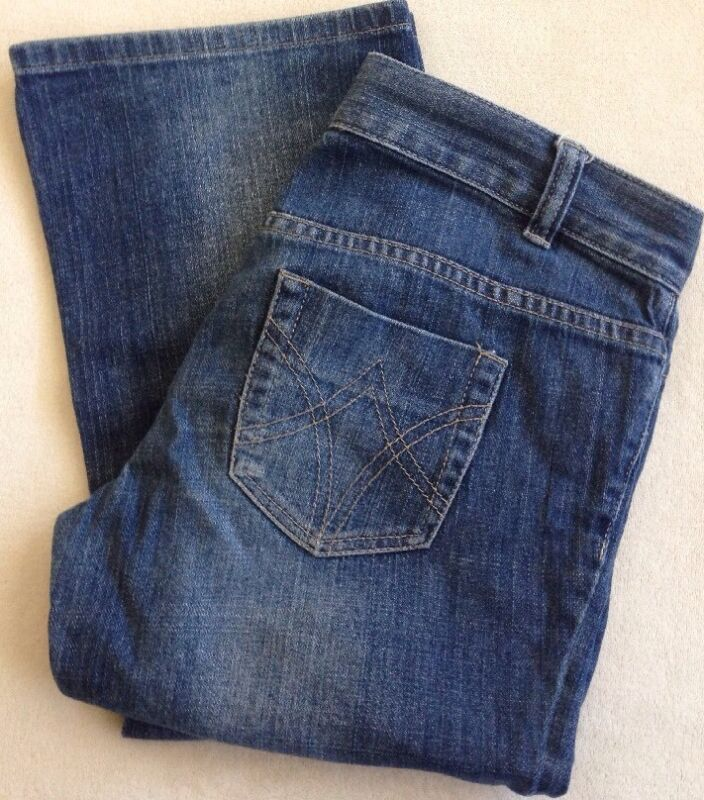 Women's IDEOLOGY Low Rise Blue Jeans Size 2 Preowned