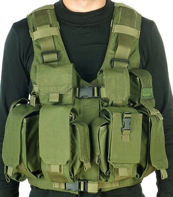 Combatant Vest for carrying heavy loads +quick draw of gear By Marom-Dolphin