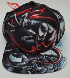 Marvel Comics Venom Suit-up Snapback Hat Brand New One Size Fits All