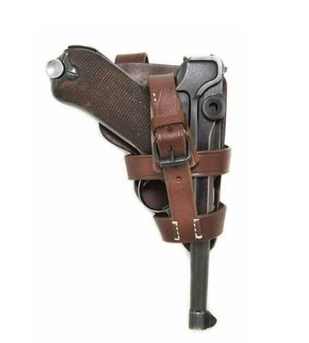 Leather Holster P08 Luger - Paratrooper-version