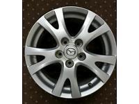 Mazda 16 inch alloy wheel