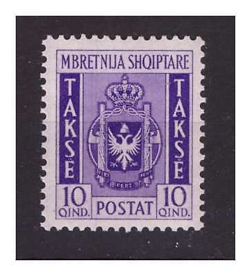 ALBANIA 1940 - SEGNATASSE QUIND  10 NUOVO **