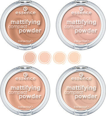 essence mattifying compact powder 4 different shades the best powder make