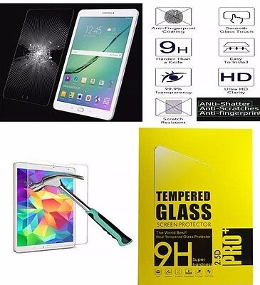 "Genuine Tempered Glass Screen Protector For Samsung  Galaxy Tab A 9.7"" SM-T550"