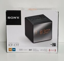 Sony ICF-C1 AM/FM Alarm Clock Radio - Black New in open box excellent condition