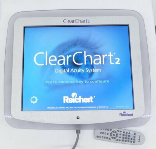 Reichert ClearChart2 Digital Visual Acuity Test System, Eye Chart / Tester 13760