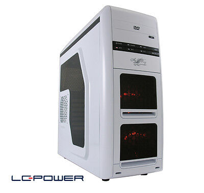 LC-Power - ATX-Gaming-Gehäuse - Gaming 975W Air Wing - USB 3.0 & Dockingstation