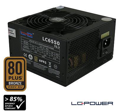 LC-Power - Netzteil LC6550 V2.3 Super Silent-Serie - 550 Watt - 80Plus Bronze EU