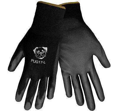 Global Glove PUG Polyurethane Coated Nylon Gloves 12 Pair SMALL (PUG17-S)