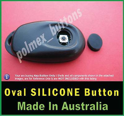 fits Nissan Pulsar N15 remote key fob - Replacement Oval key Button
