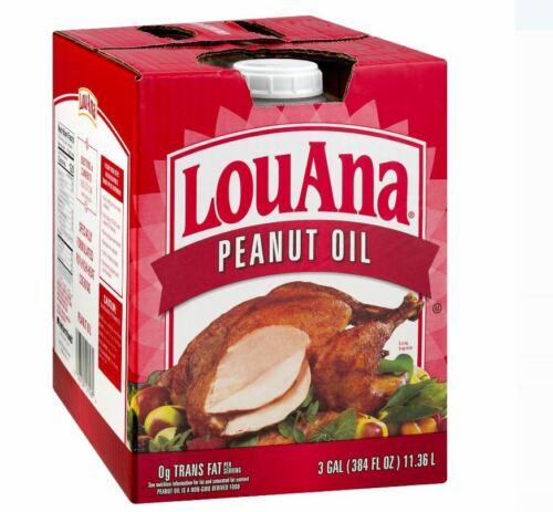 Cooking Oils LouAna Peanut Oil, 3 Gallon