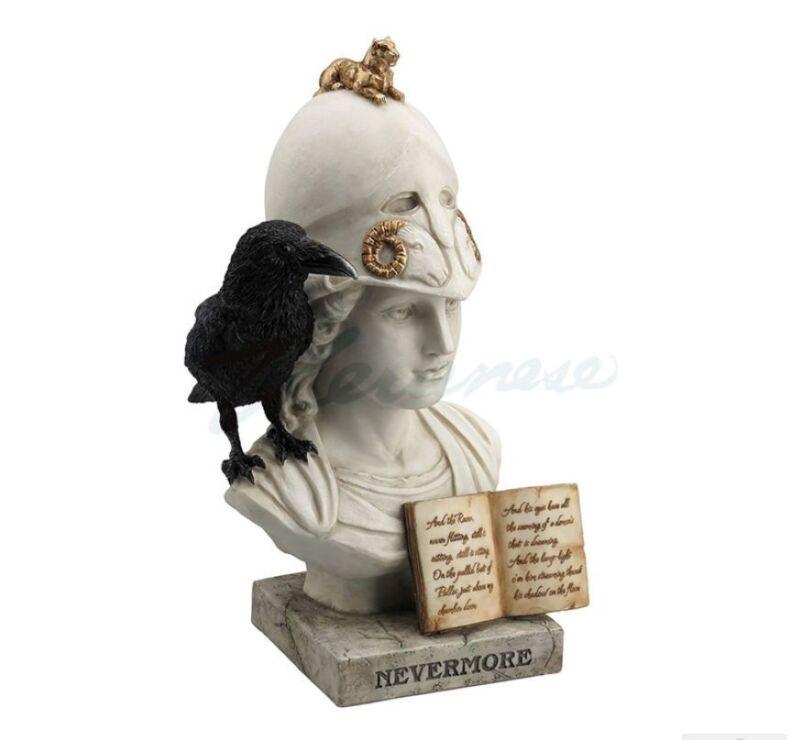 The Raven - Nevermore Statue Sculpture Figure SHIP WORLDWIDE