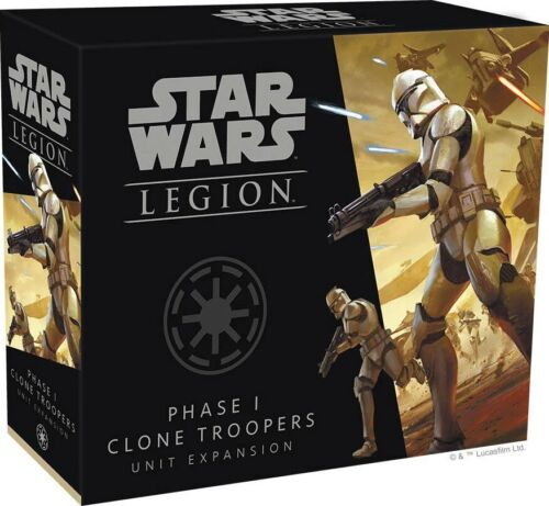Phase I Clone Troopers Unit Expansion Star Wars Legion Clone Wars 1 FFG