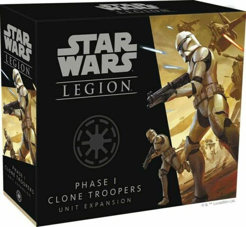Star Wars Legion Phase I Clone Troopers LOOSE