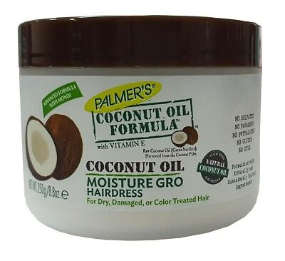 Palmers Coconut (Palmers Palmer's Coconut Oil Formula Moisture Gro Shining Hairdress 250g )