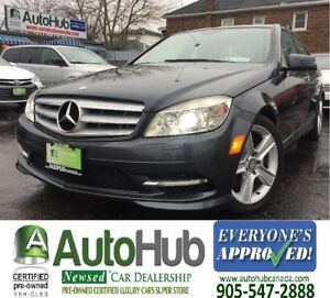 2011 Mercedes-Benz C-Class 4 MATIC-NAV-LEATHER-SUNROOF-BACKUP CA