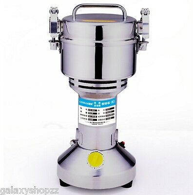 800g Grains Seasoning Feed Ores Salt Pepper Grinder High-speed Universal Mills
