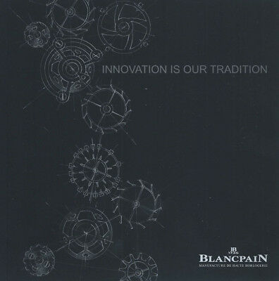 BLANCPAIN Luxury Watch CATALOG Softcover BOOK 2016 2017 - 172 Pages